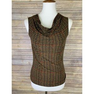 Chaps Womens Small NWT Blouse Draped Neckline